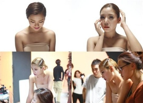 Orange Caramel Transforms from Cute to Sexy? : Nude-Tone Photos Stir Curiosity