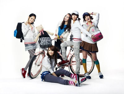 Photoshoot from EXR (Wonder Girls)