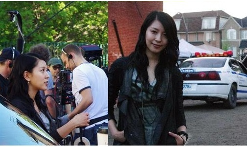 """Recent Photos of BoA from the Set of """"COBU 3D"""""""