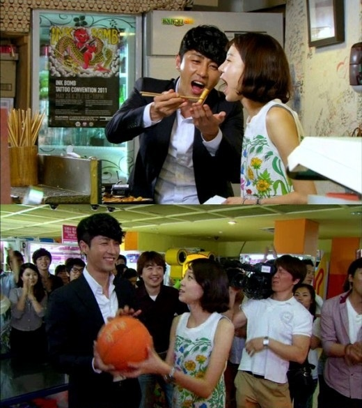 """The Greatest Love's"" Cha Seung Won Enjoys Romantic Date with Gong Hyo Jin in Public!"