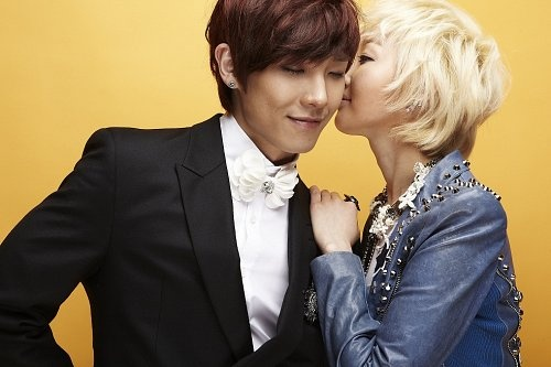 Fat Cat Gives a Kiss to MBLAQ's Lee Joon