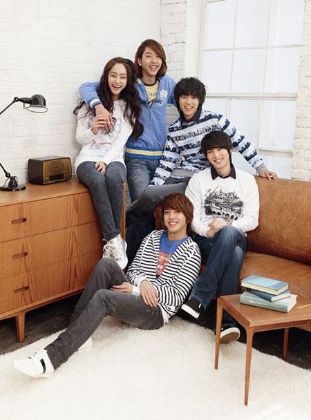 CN Blue and Seo Hyo Rim for Bang Bang (S/S '11)