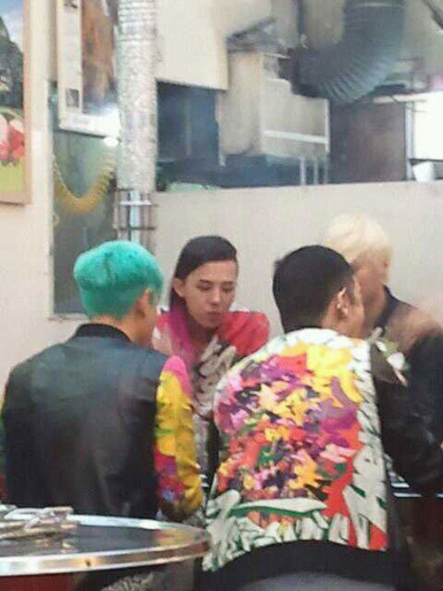 G-Dragon's New Hairstyle?