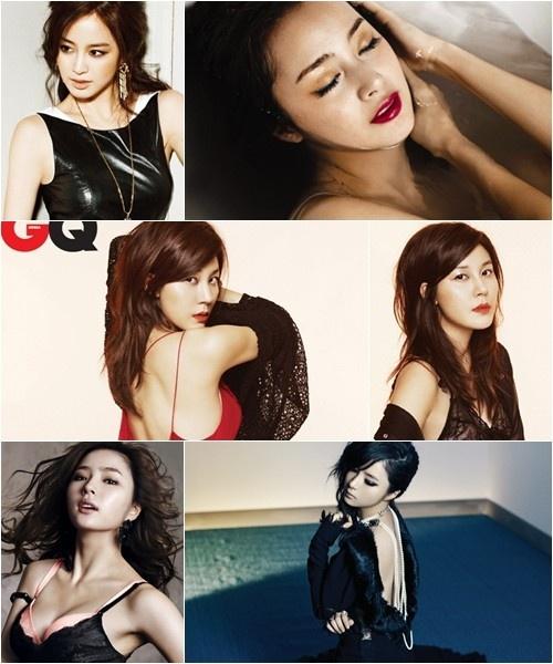 Kim Tae Hee, Kim Ha Neul and Shin Se Kyung Flaunt Their Sexiness