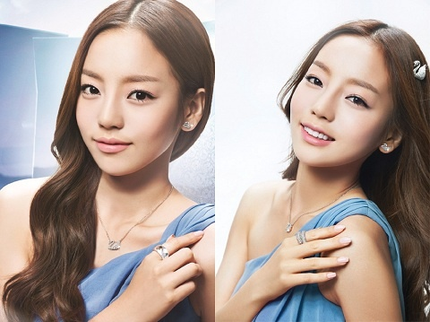 Goo Hara Becomes New Face of Swarovski