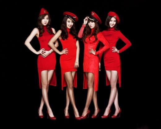"SISTAR Becomes Main Female Model for Makeup Brand ""Holika Holika"""