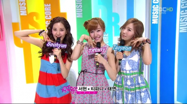 MBC Music Core Performances 04.21.12
