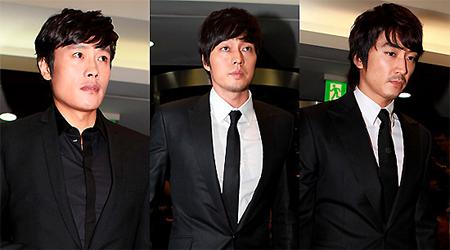 Korea's Top Celebrities At Andre Kim's Wake