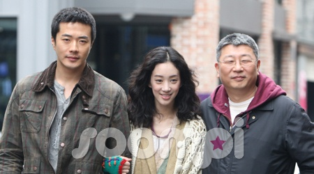 "On the Set of ""Pain,"" Kwon Sang Woo & Jung Ryeo Won"