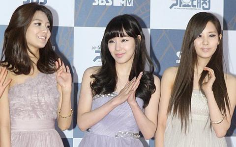 SNSD's Gayo Daejun Red Carpet Fashion