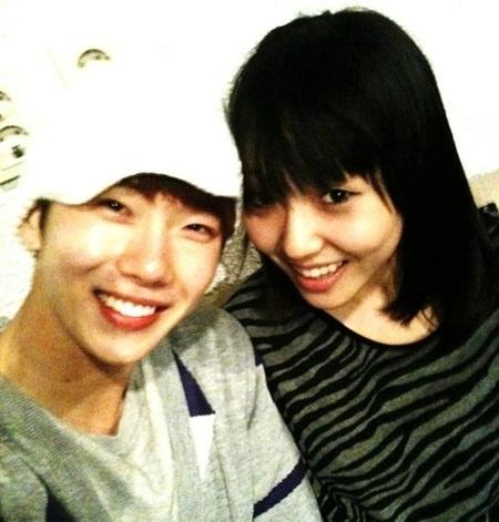 Jo Kwon and Min Reveal Photo