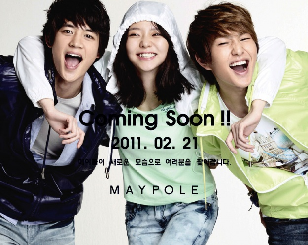 SHINee Become New Faces For Maypole In 2011