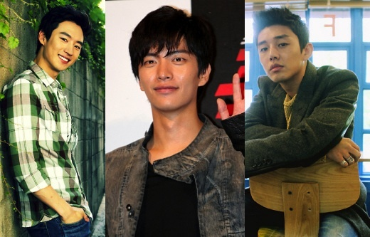 Yoo Ah In, Lee Min Ki, and Lee Je Hoon Come Together for a Photo Shoot