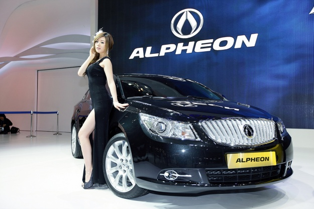 Busan International Motor Show 2010 (Hwang Mi Hee)