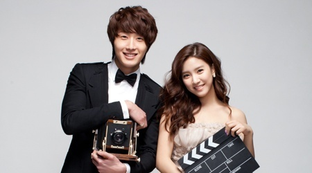 Jung Il Woo & Kim So Eun's JIFF Poster Shoot