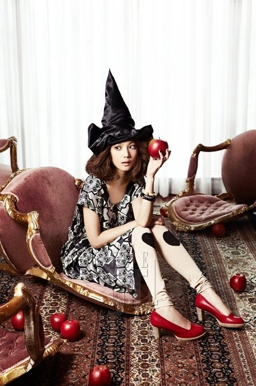 Yoon Seung Ah's Enchanting Transformation into a Fairy Tale Witch