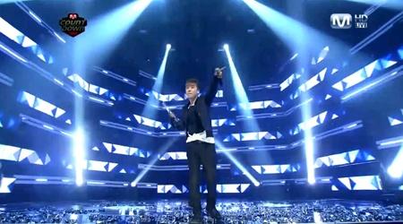 Mnet M! Countdown 01.27.11