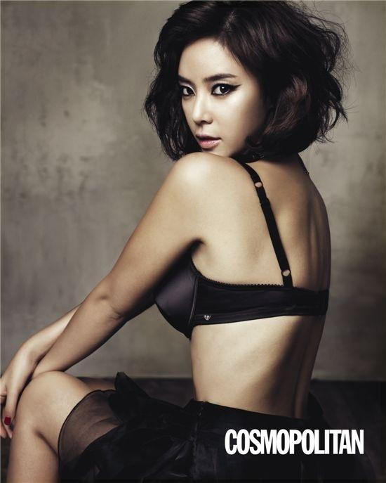 Is Hwang Jung Eum's Dress Too Revealing?