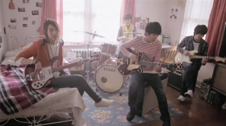 "CN Blue Releases ""Love Girl"" Music Video"