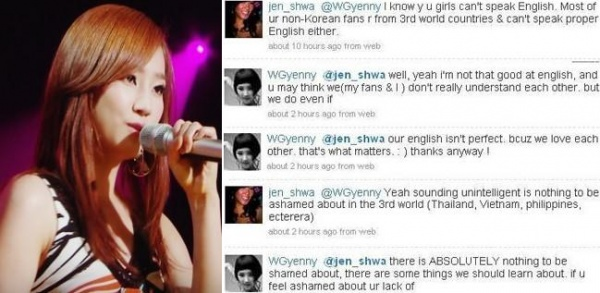 WonderGirls' YeEun vs. Twitter Bashing