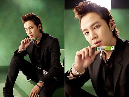 """Jang Geun Suk Models for Japanese Gum """"ACUO"""""""