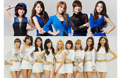 Kara & SNSD: Who Will Reach One Million Sales First?