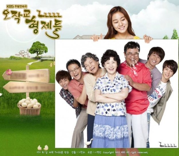 """""""Ojakgyo Brothers"""" Achieves All-Time High Ratings for Finale Episode"""