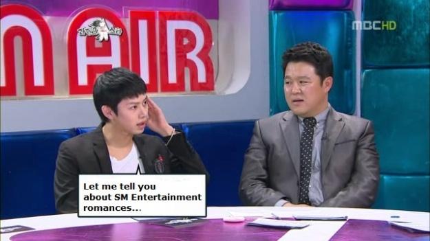 Heechul Talks about SM Love Affairs