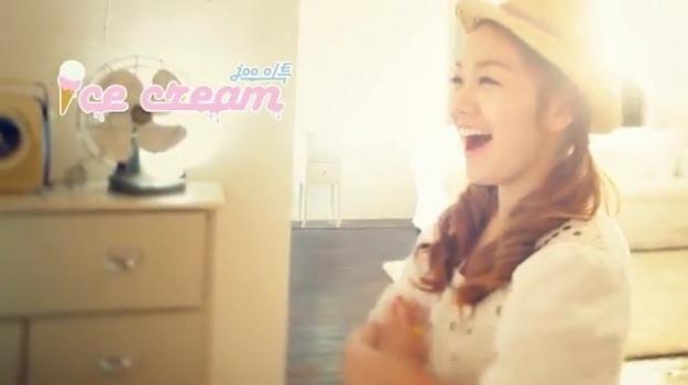 "Joo & Lee Teuk (Super Junior) Release MV for ""Ice Cream"""