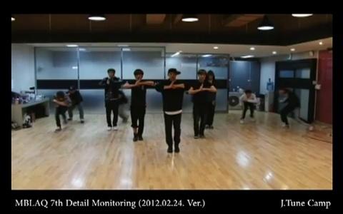 "MBLAQ Releases Dance Practice Video For ""Run"""