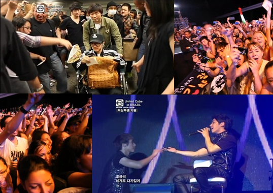 Lee Ki Kwang's Strong Spirit and M-Live by CJ United Cube in Brazil