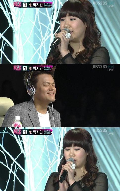 "Park Ji Min Earns Two Perfect Scores on ""K-pop Star"""