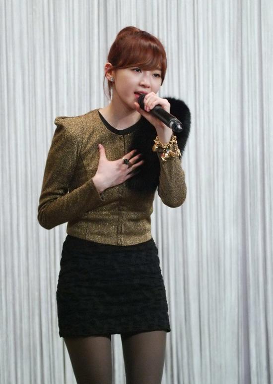 Davichi's Kang Min Kyung has a Cute Radio Accident