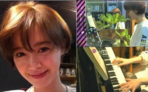 Goo Hye Sun Displays Exceptional Piano Skills