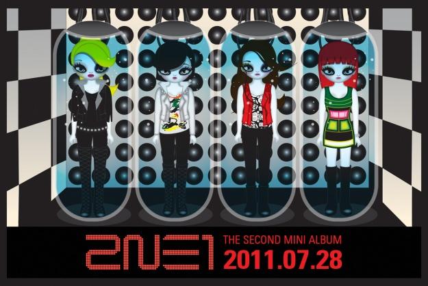 2NE1's Ranking on iTunes Charts Worldwide