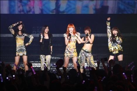 "4minute Holds ""LIVE Energy Vol.1 MUZIK"" concert in Japan"