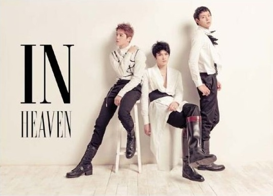 """JYJ Reveals Album Jacket and Track List for """"In Heaven"""""""