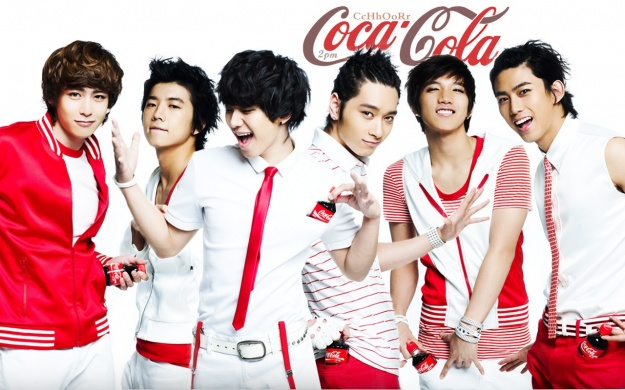 2PM To Endorse Coca-Cola Again