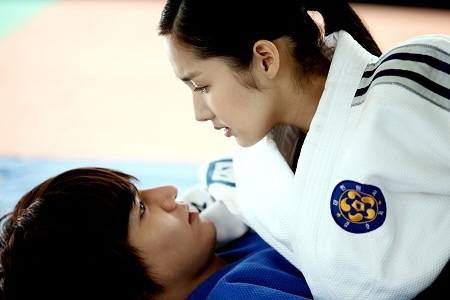 "Lee Min Ho & Park Min Young's Love Judo for ""City Hunter"""