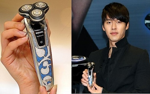 Stars and Fan Gifts: Hyun Bin's Diamond-Studded Razor, Leeteuk's Golden Mic, and More!