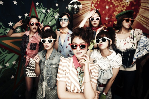 Weekly K-Pop Music Chart 2011 – July Week 5