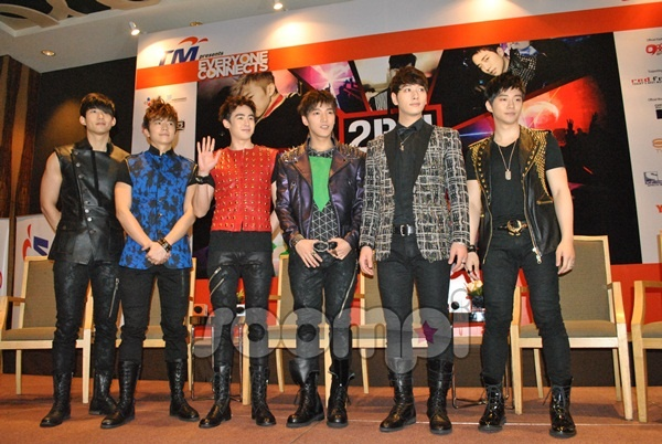 Complete Coverage of 2PM's Press Conference in Malaysia