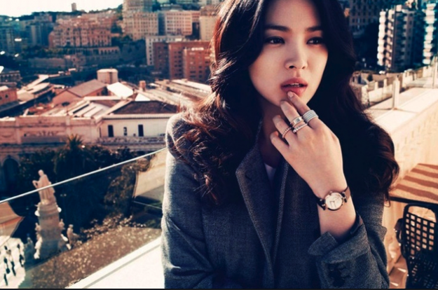 Beautiful Untouched Photos of Song Hye Gyo in France