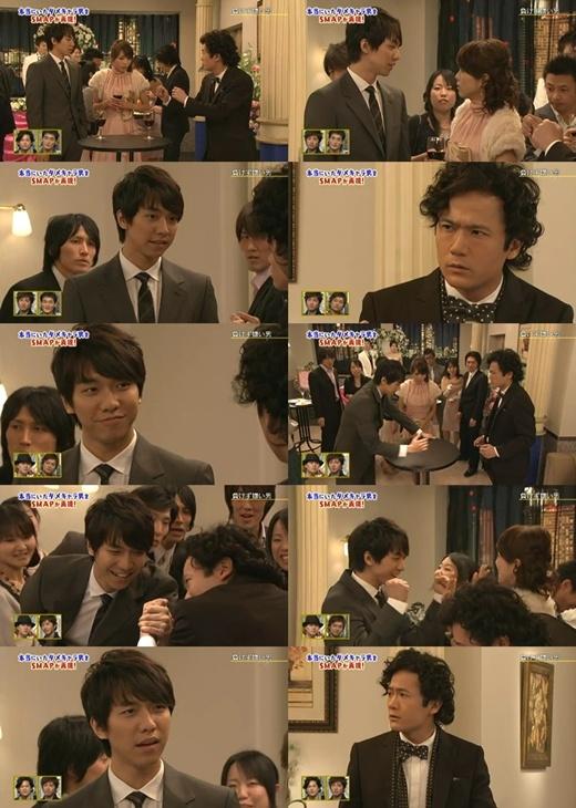 "Lee Seung Gi's Comedy Sketch on Fuji TV's ""SMAPXSMAP"""