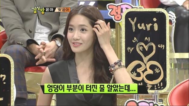 "Recap] SBS ""Strong Heart"": SNSD Talks Wardrobe Malfunction"