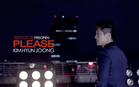 """Kim Hyun Joong Releases MV For """"Please"""""""