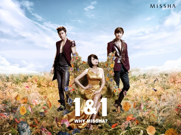 DBSK and Kim Hye Su's Missha CF revealed