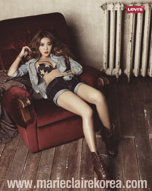 Narsha Goes Sexy with More Lingerie Photos for Levi's Bodywear