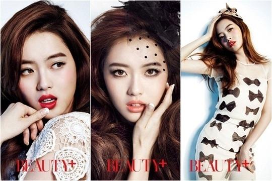 Go Ara Transforms Into An Elegant Woman for Beauty+