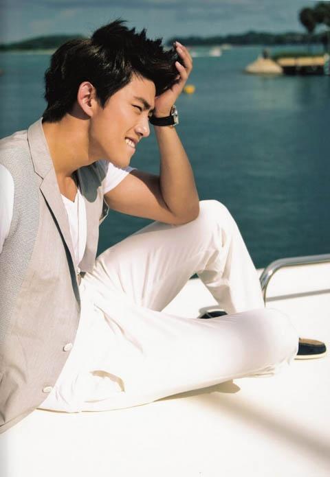 "2PM's Taecyeon Transforms into Ken for ""Cosmopolitan"""